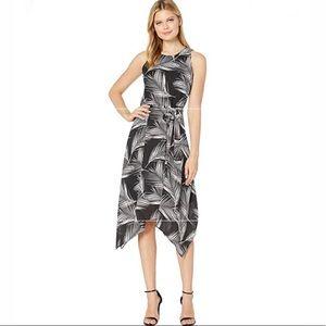 KAREN KANE Lace Halter Dress